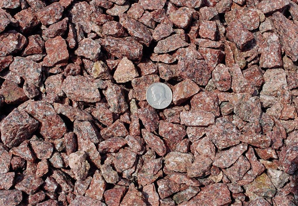 Red Granite Rock : Red granite rock
